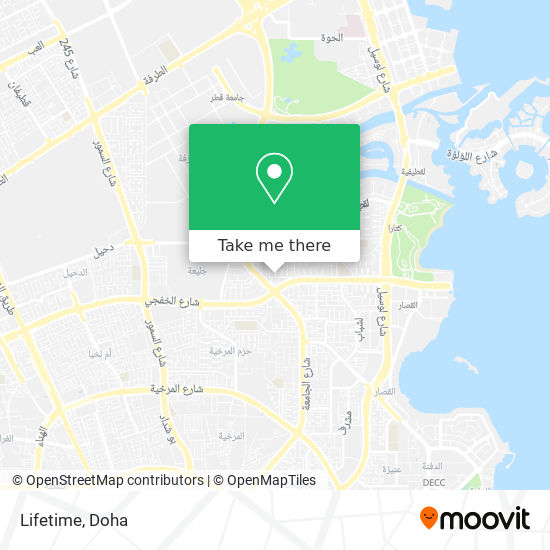 Lifetime map