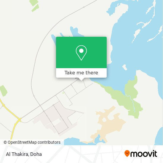 Al Thakira map