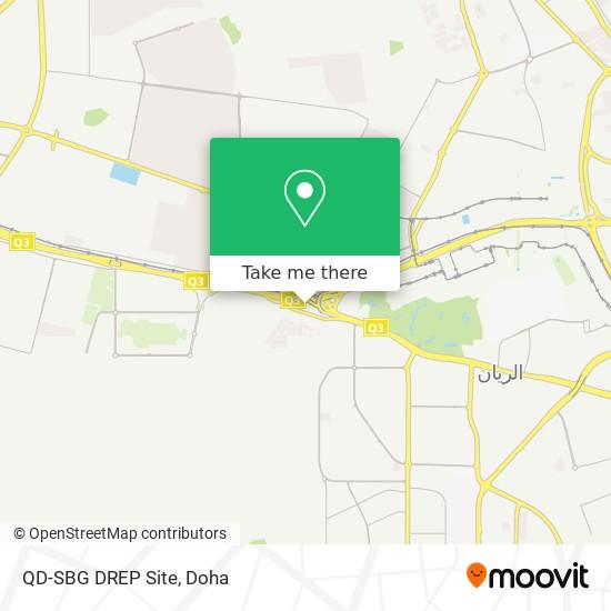 QD-SBG DREP Site map