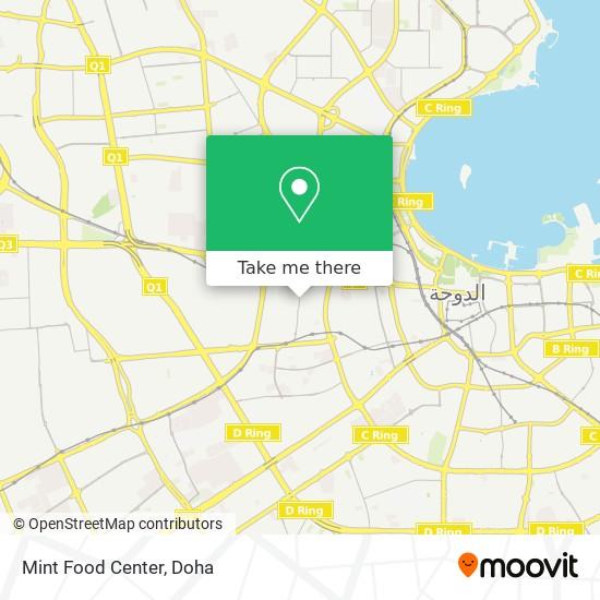 Mint Food Center map