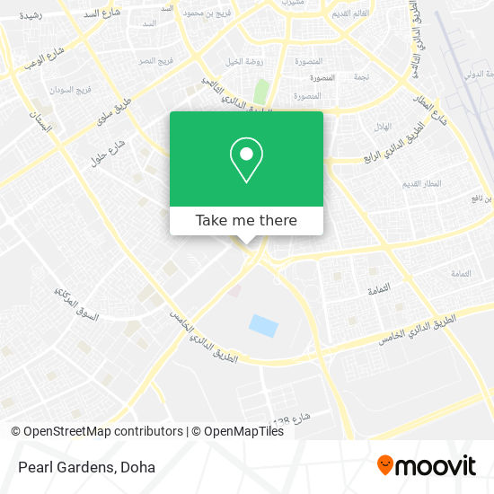 Pearl Gardens map