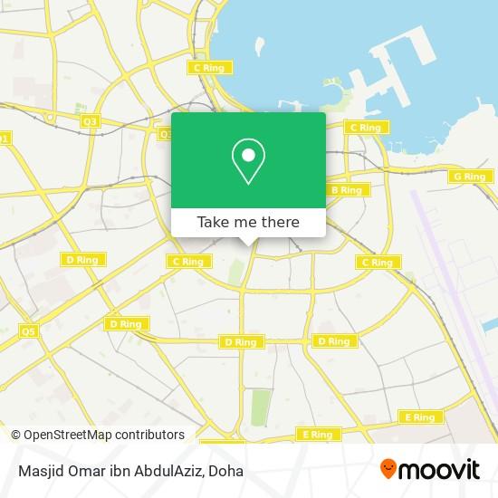 Masjid Omar ibn AbdulAziz map