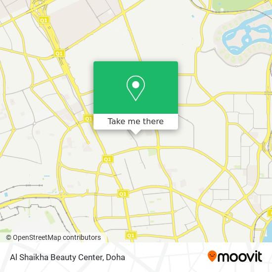 Al Shaikha Beauty Center map