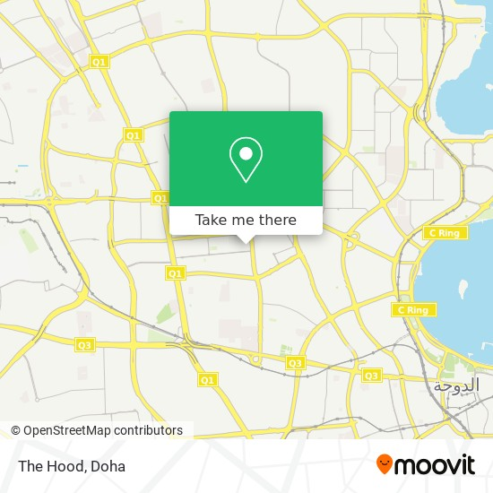 The Hood map