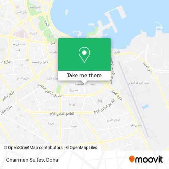 Chairmen Suites map