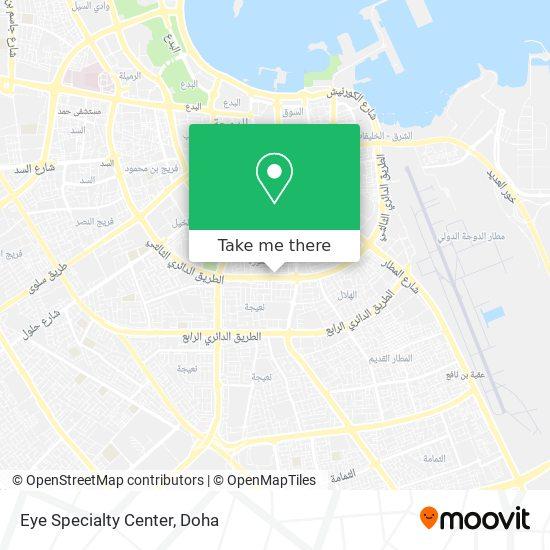 Eye Specialty Center map