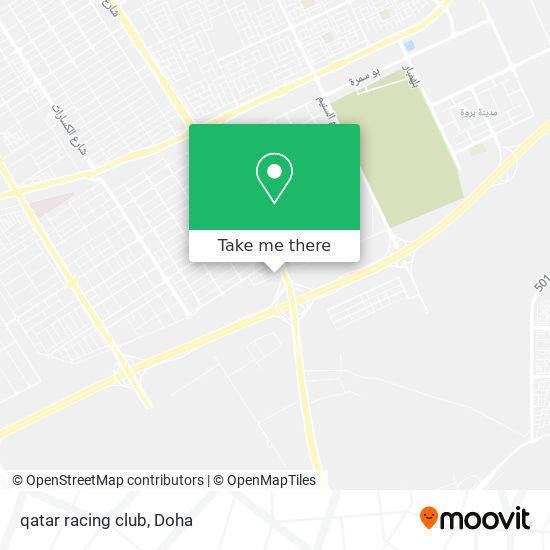 qatar racing club map