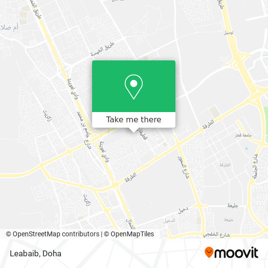 Leabaib map