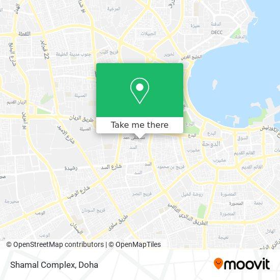 Shamal Complex map