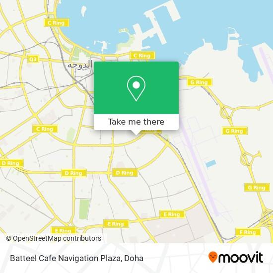 Batteel Cafe Navigation Plaza map