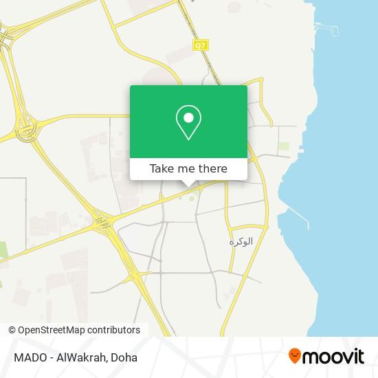 MADO - AlWakrah map