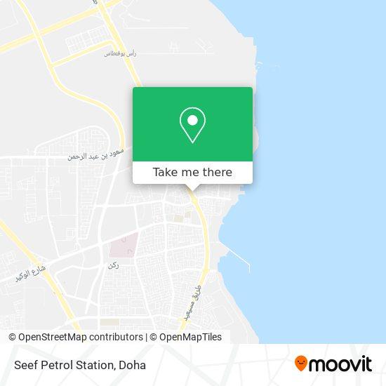 Seef Petrol Station map