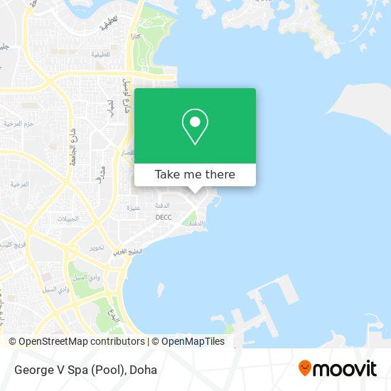 George V Spa (Pool) map