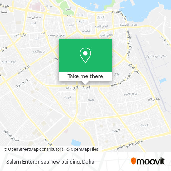 Salam Enterprises new building map