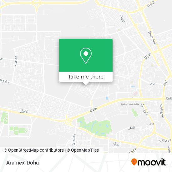 Aramex map