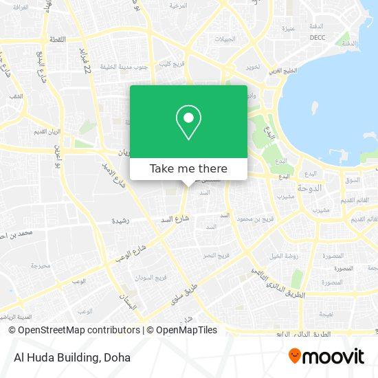 Al Huda Building map