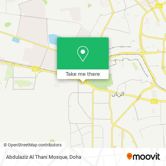 Abdulaziz Al Thani Mosque map