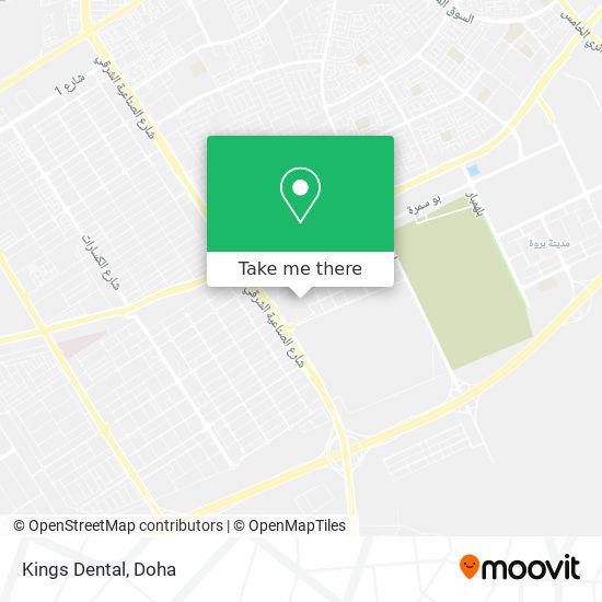 Kings Dental map