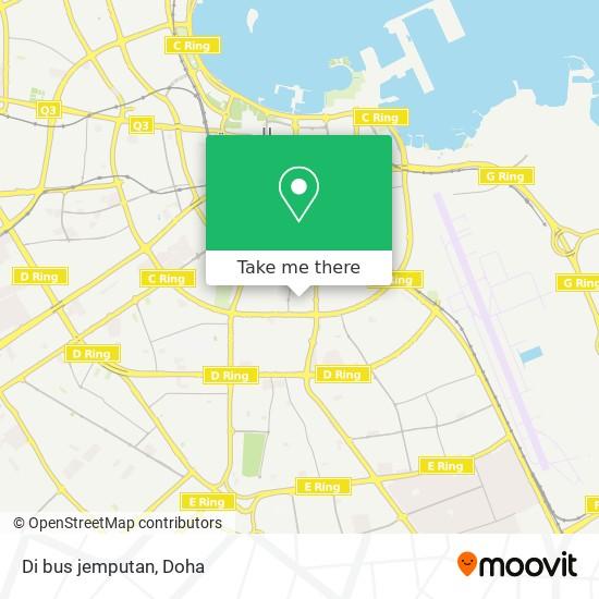 Di bus jemputan map