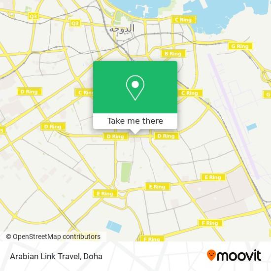 Arabian Link Travel map