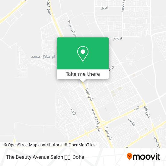 The Beauty Avenue Salon 💕💞 map
