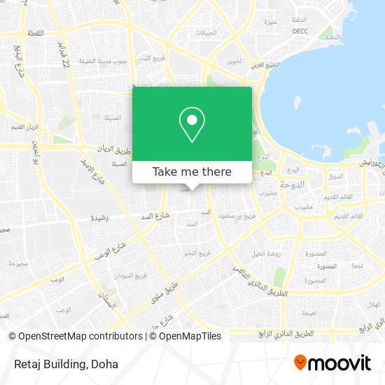 Retaj Building map