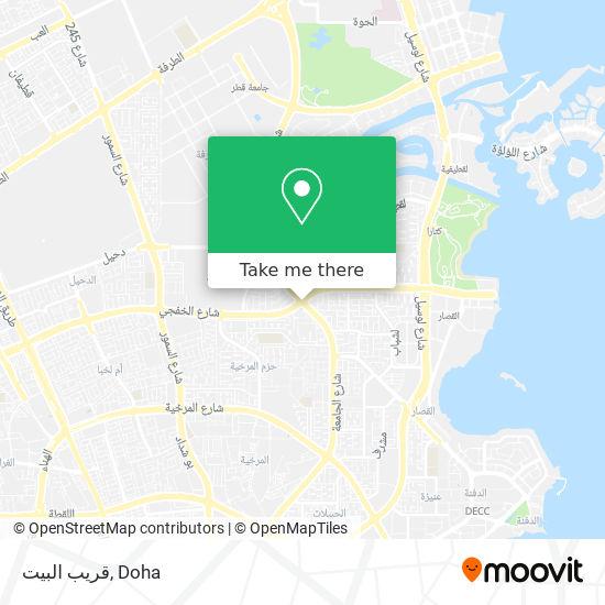 قريب البيت map