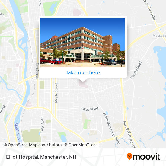 How To Get To Elliot Hospital In Manchester By Bus Moovit