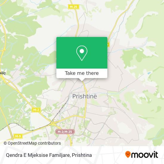 Qendra E Mjeksise Familjare map