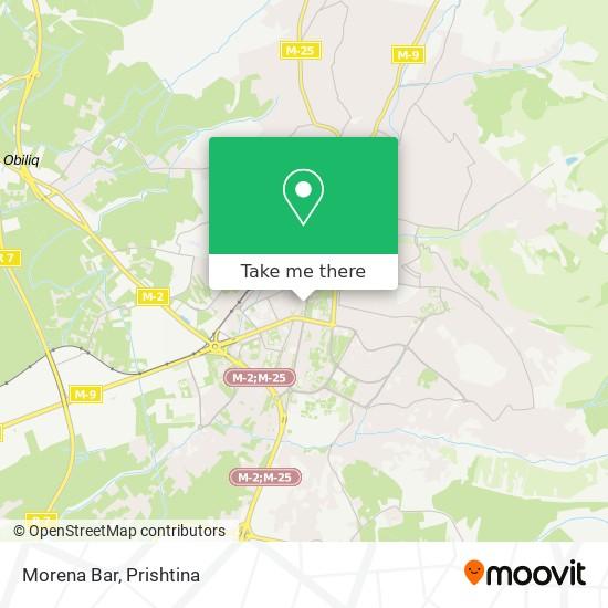 Morena Bar map
