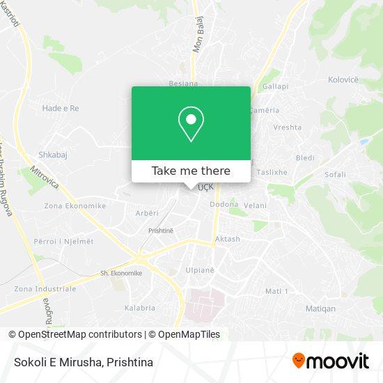 Sokoli E Mirusha map