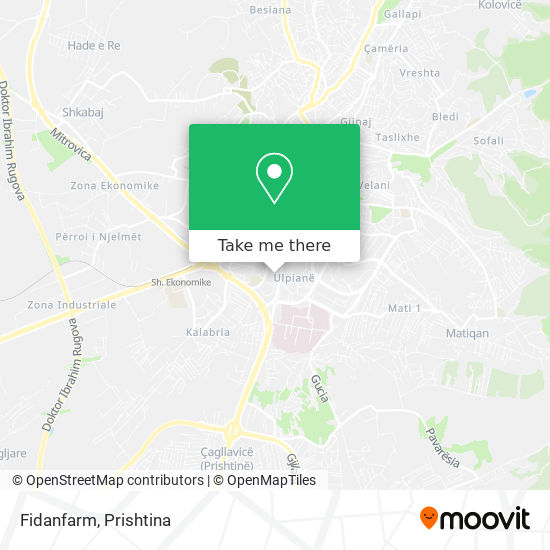Fidanfarm map