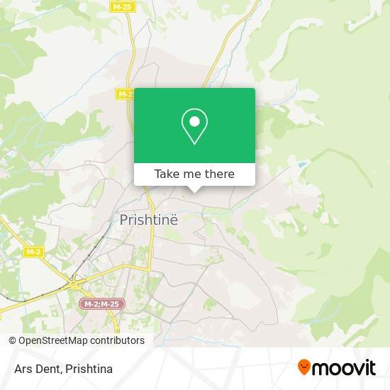 Ars Dent map