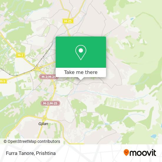 Furra Tanore map
