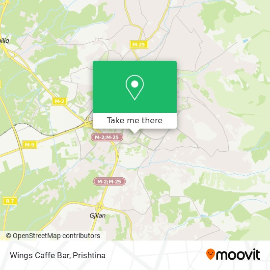Wings Caffe Bar map