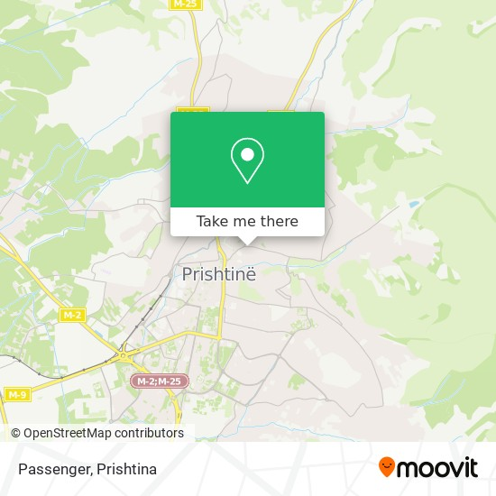 Passenger map