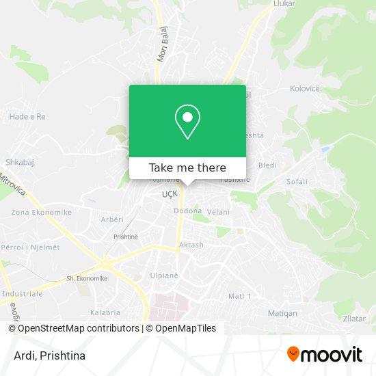 Ardi map