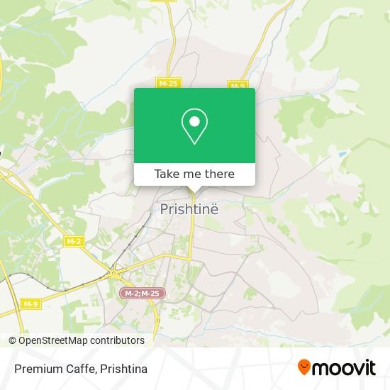 Premium Caffe map