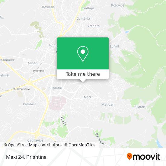 Maxi 24 map