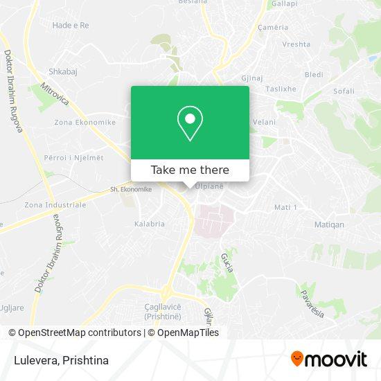 Lulevera map