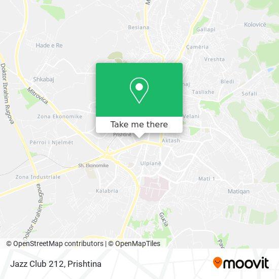 Jazz Club 212 map