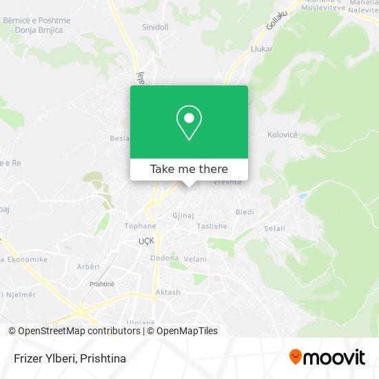 Frizer Ylberi map