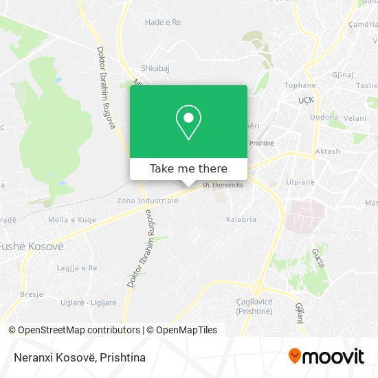 Neranxi Kosovë map