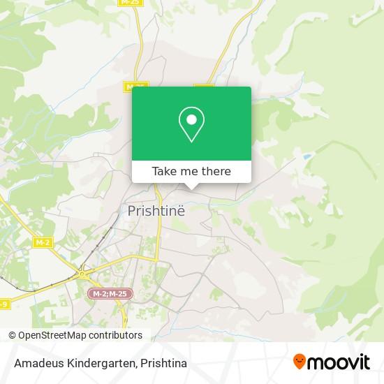 Amadeus Kindergarten map