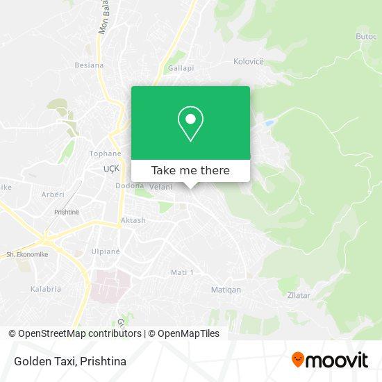 Golden Taxi map