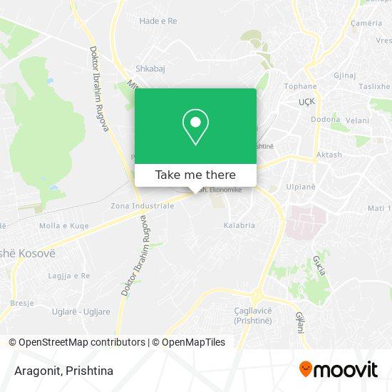 Aragonit map