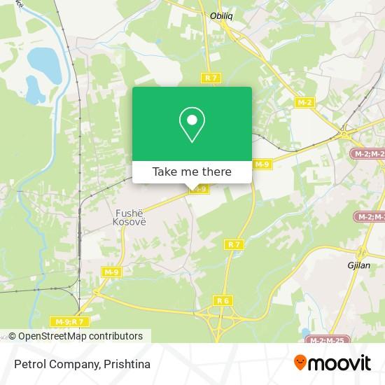 Petrol Company map