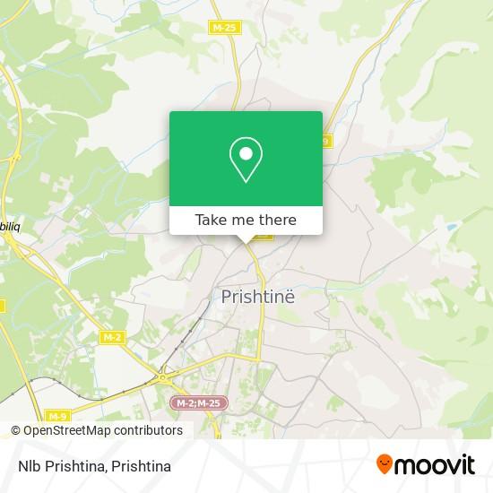 Nlb Prishtina map