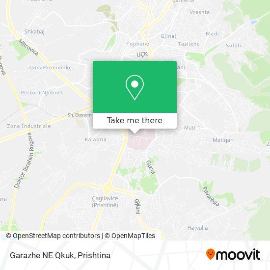 Garazhe NE Qkuk map