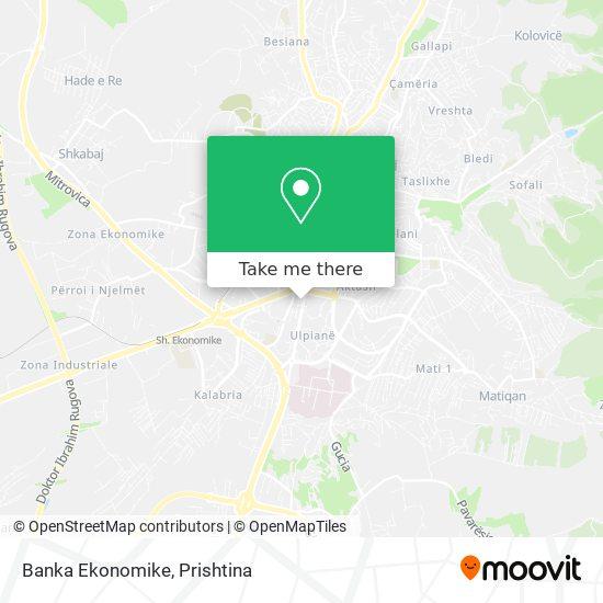 Banka Ekonomike map